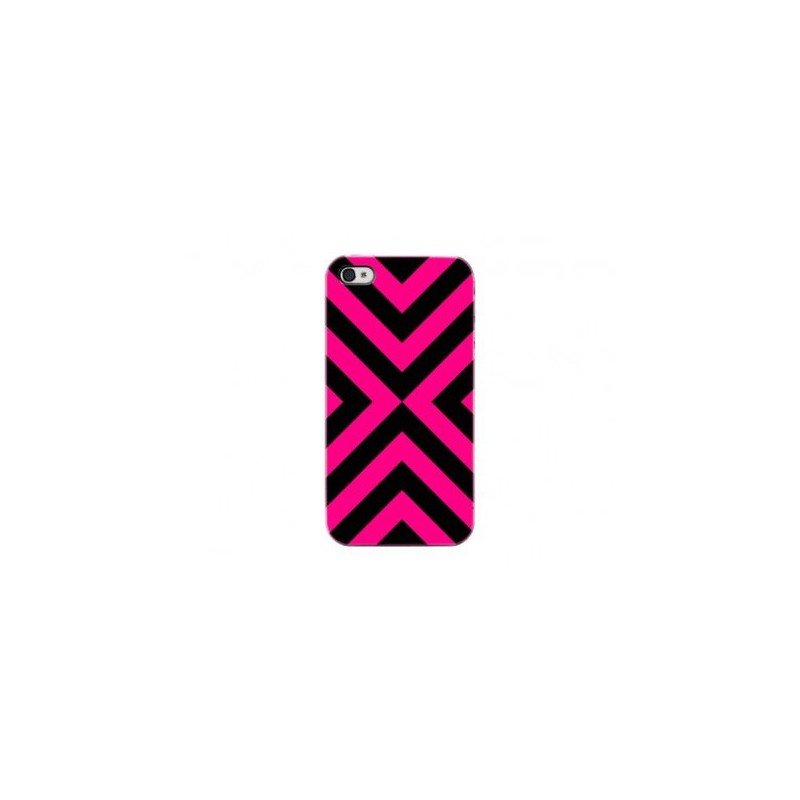 Cover Magenta Stripes iPhone 4 o 4s