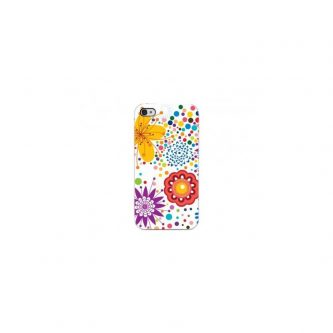 Cover Dot Flowers – Per iPhone 4 o 4S