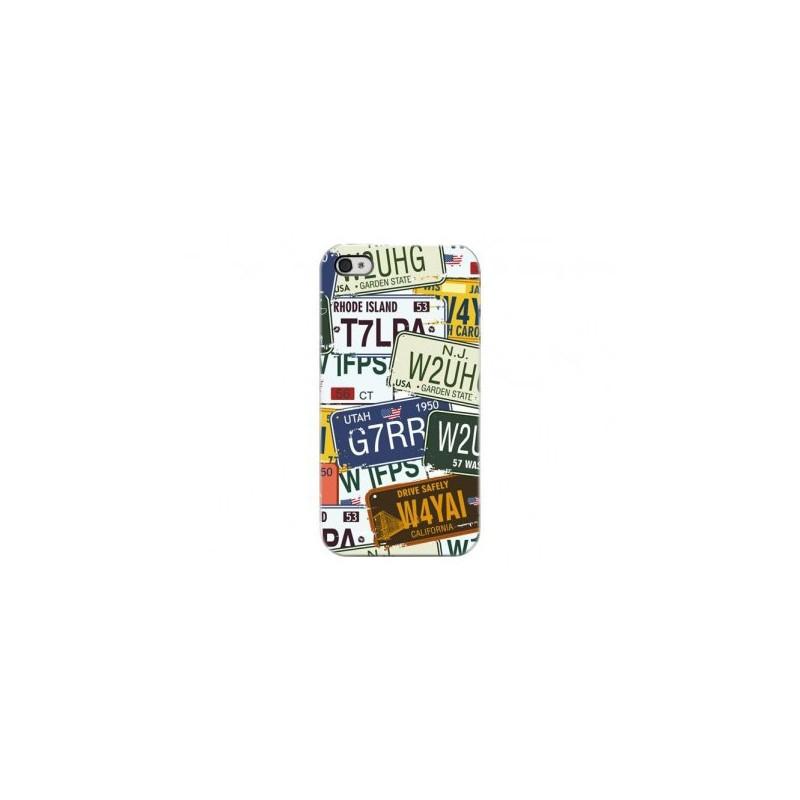 Cover Car Plate - Per iPhone 4 o 4S