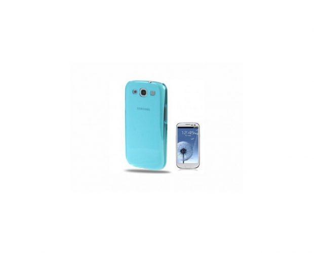 Cover Light Blue Clear - Per Samsung Galaxy S3