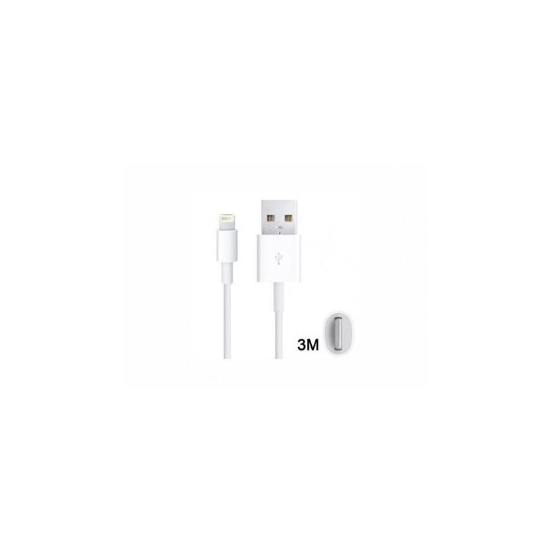 Cavo Usb 3 Metri Bianco - Per iPhone