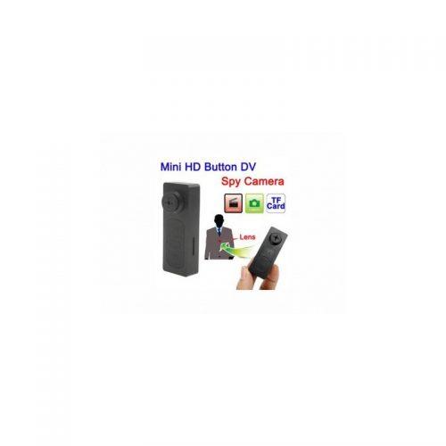 Microspia in HD a Forma di Bottone per Giacca