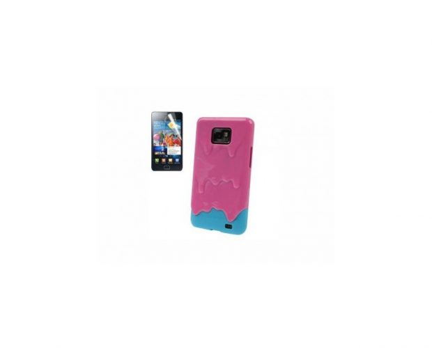 Cover 3D Ice Cream Melt - Per Samsung Galaxy S2 e S2 Plus