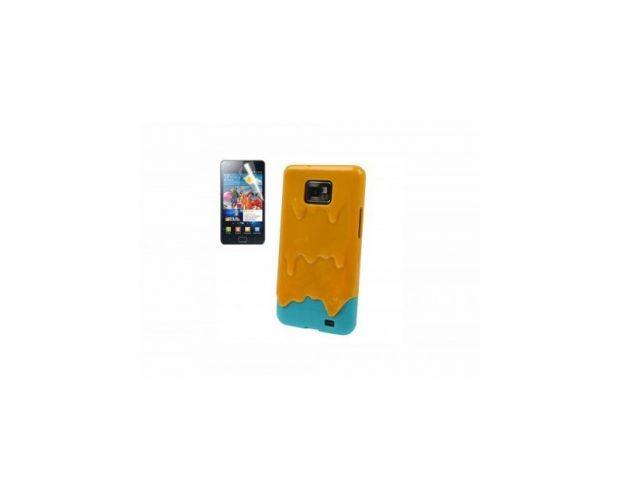 Cover 3D Ice Cream Melt - Per Samsung Galaxy S2 e S2 Plus