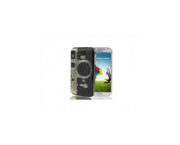 Camera Design Cover - Per Samsung Galaxy S4