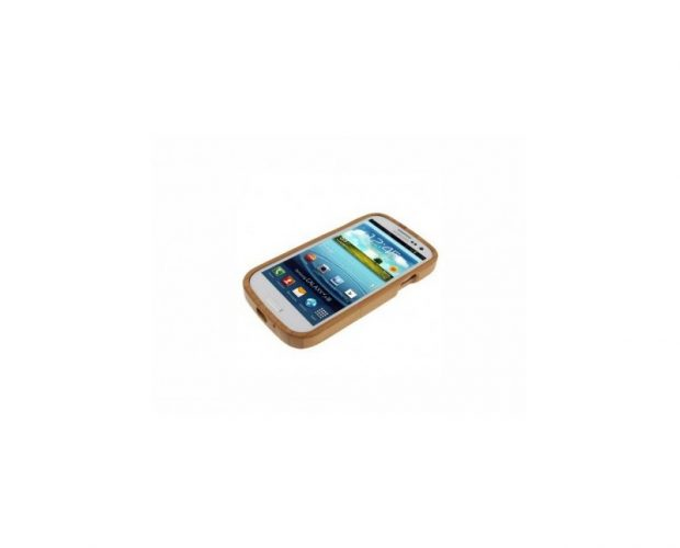 Cover In Legno Wooden - Per Samsung Galaxy S3