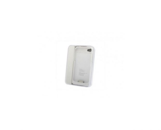 Cover Bianca Con Batteria Supplementare - Per iPhone 4 o 4S