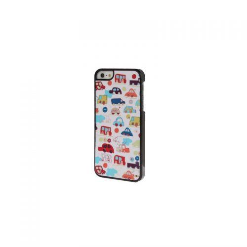 Custodia Glitter con Texture Macchine - per iPhone 5 e 5S