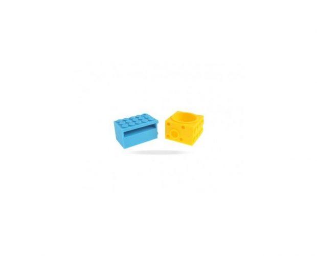 Altoparlante Lego Speaker in silicone - 4 4s