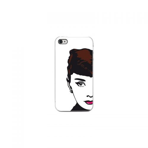 Cover Audrey Hepburn - Per iPhone 4 4S