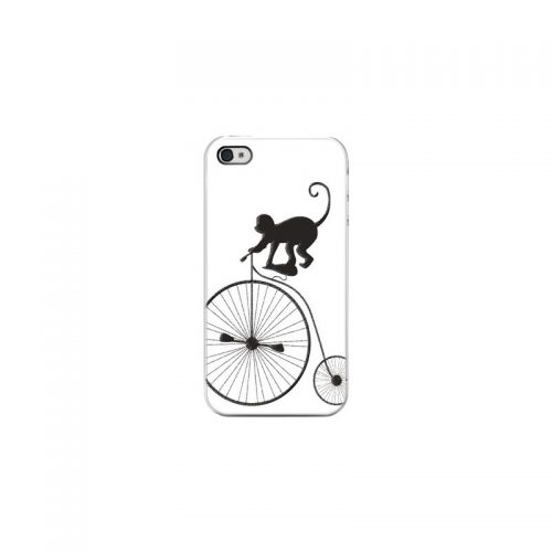 Cover Scimmietta Acrobata - Per iPhone 4 4S