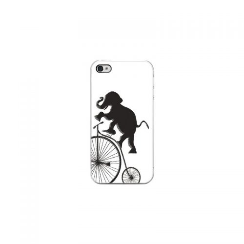 Cover Elefante Acrobata - Per iPhone 4 4S