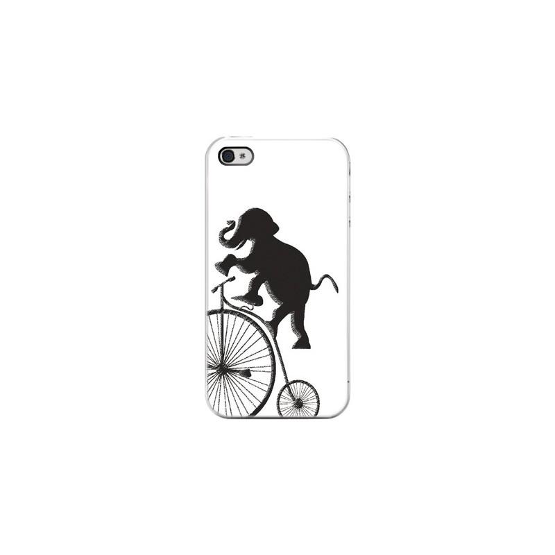 Cover Elefante Acrobata - Per iPhone 4 4S