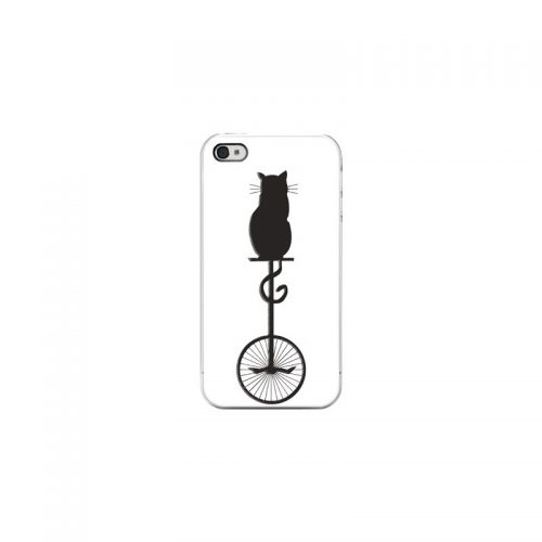 Cover Gatto Acrobata - Per iPhone 4 4S