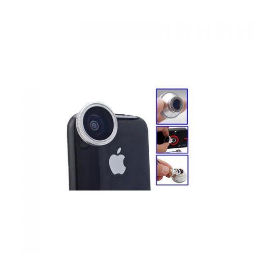 Obiettivo Fisheye Lente 180?° - iPhone Samsung