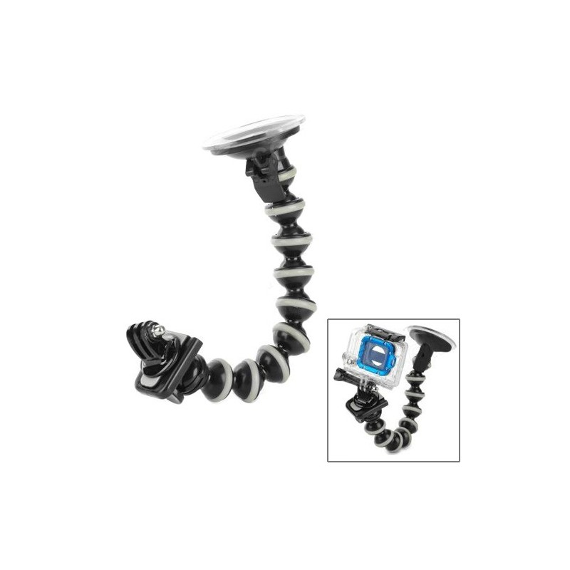 Gorilla Pod - Braccio con ventosa per GoPro