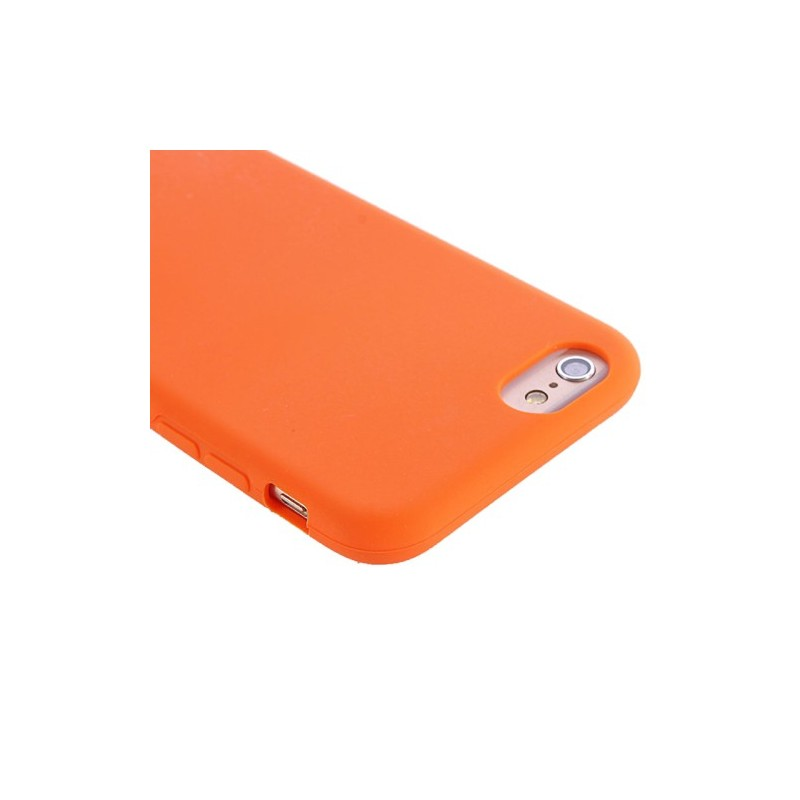 custodia iphone 7 arancione