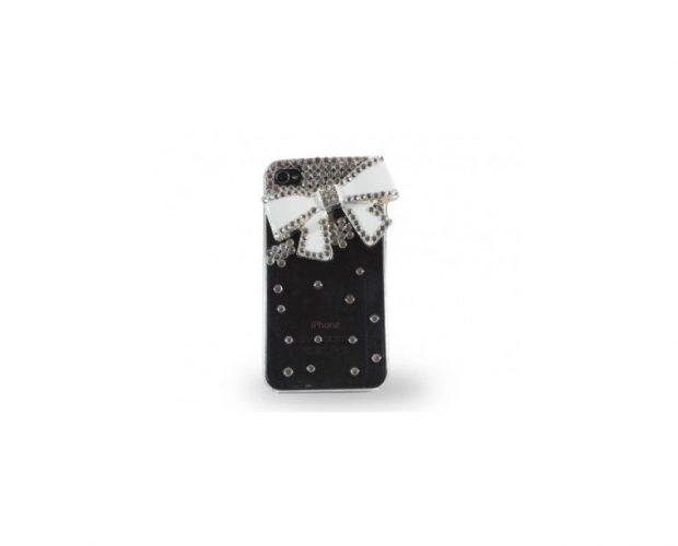 Cover con Fioccho e Brillanti per iPhone 4 - 4s