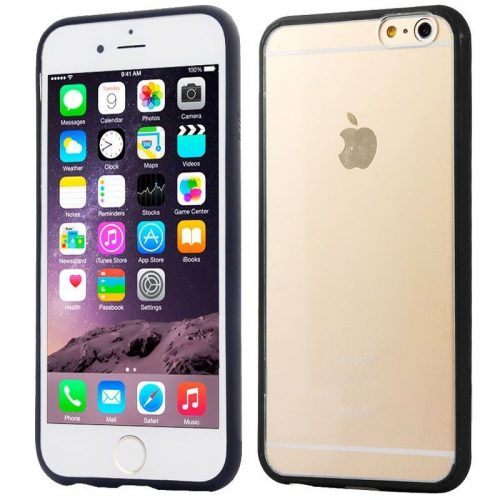 Bumper Nero 2 in 1 per iPhone 6 e iPhone 6s