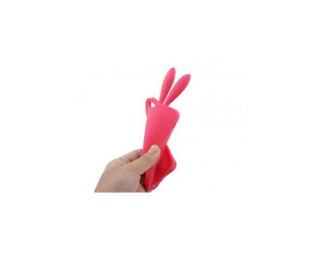 Custodia Rabbit - Orecchie Coniglio - Per iPhone 5