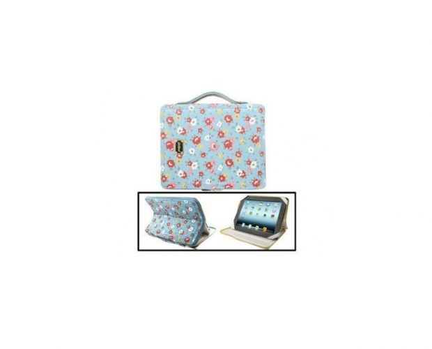Custodia iPad Romantic Floral Pattern