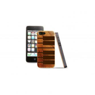 Cover in legno iPhone – incisione piano