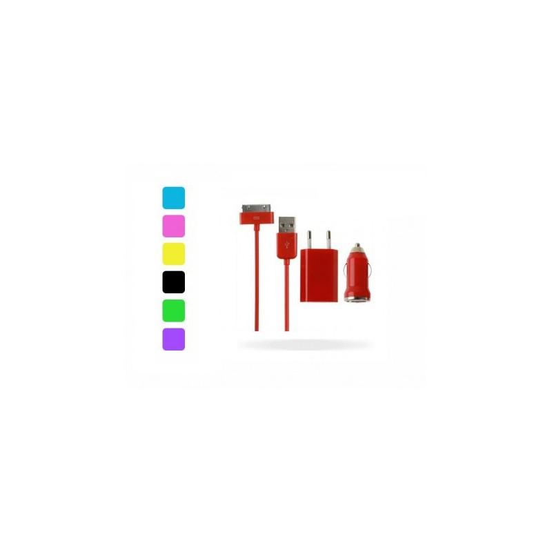 Kit Caricatore Apple iPhone - Colorato