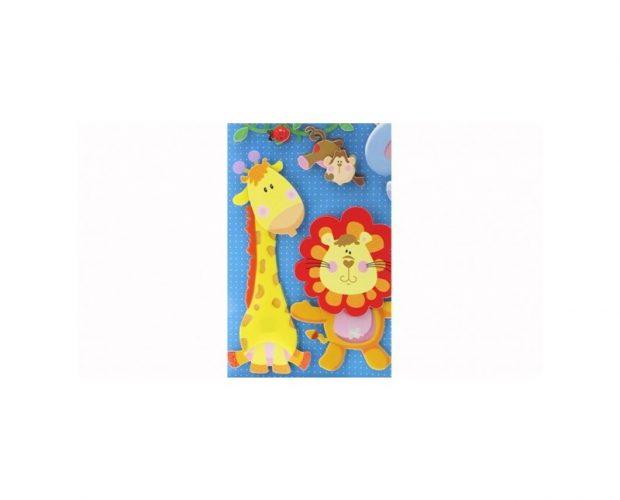 3D Wall Sticker For Kids - La Banda Dello Zoo