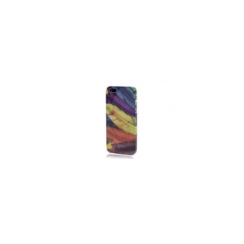 Custodia Colorful Feathers per iPhone 5 o 5s
