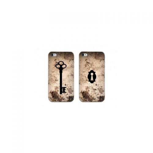 Coppia di Cover Key e Lock per iPhone 4 e 4s