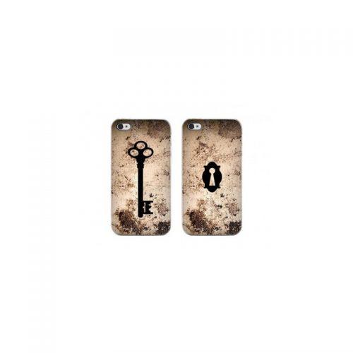 Coppia di Cover Key e Lock per iPhone 4 e 4s