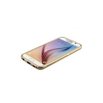 Cover Baseus Fusion serie Metal telaio PC combinato Shell posteriore per Samsung Galaxy S6