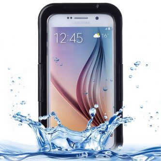Cover IPX8 di PVC impermeabile con touch frontale Responsive per Samsung Galaxy s6