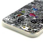 iPhone 6 Cover TPU Slim Con Fumetti