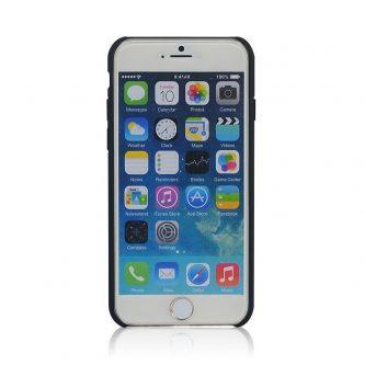 Cover iPhone 6 e 6s in Legno colorato con Pattern Blue