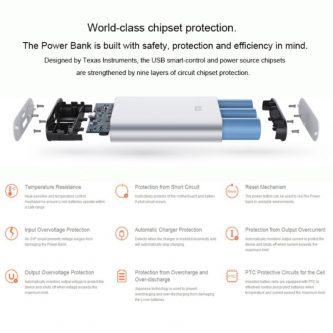 PowerBank  Xiaomi da 10000 mAh Batteria Esterna Portatile