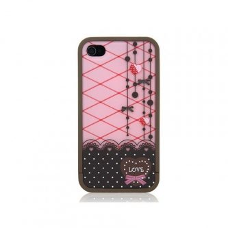 Cover Split Gatto per iPhone 4 o 4s