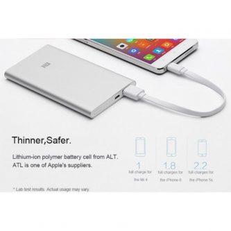PowerBank  Xiaomi da 5000 mAh Batteria Esterna Portatile
