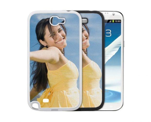 Cover UltraGlossy per Samsung Galaxy Note 2 adatta a stampa sublimatica