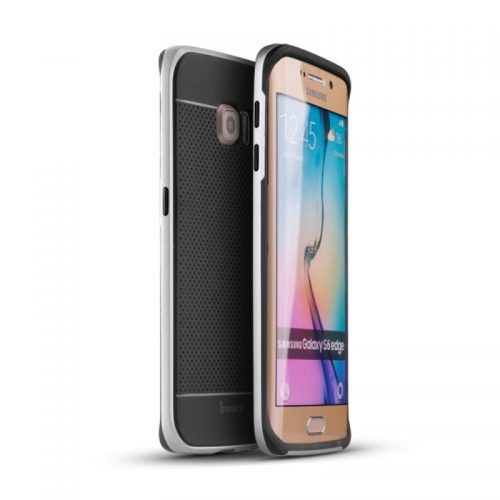 IPAKY 2 in 1 PC + TPU Cover per Samsung Galaxy S6 Edge G925
