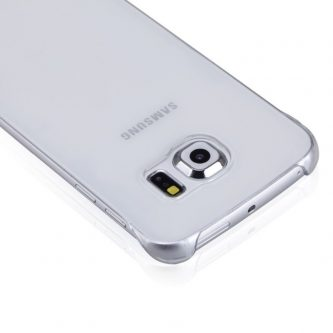MOMAX Cover Satinata Trasparente Per Samsung Galaxy S6 Edge G925