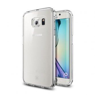 BASEUS Cover Air 0,6 mm Clear Gel TPU per Samsung Galaxy S6 Edge G925
