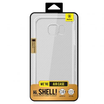 BASEUS Cover Air 0,6 mm Clear Gel TPU per Samsung Galaxy S6 Edge G925