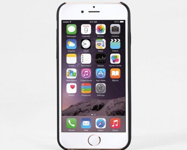 AMORUS Cover Slim Rigida per iPhone 6S / 6 da 4.7 pollici - Nero