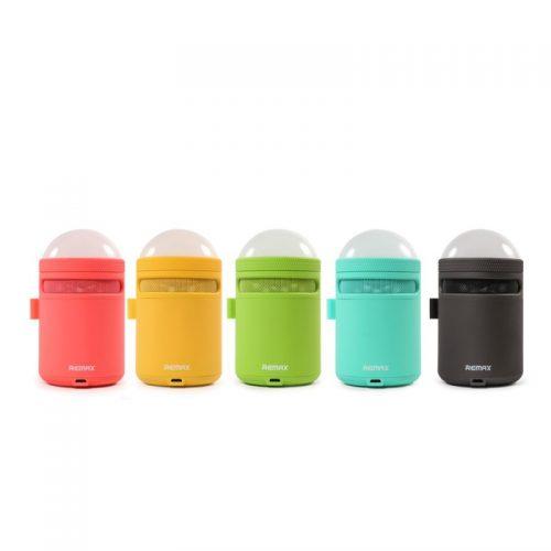 REMAX Speaker Bluetooth con Lampada Led Colorata