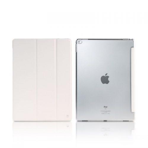 REMAX Custodia in Pelle Smart Ripiegabile per iPad Pro 12.9 Bianco