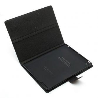 Mercury Cover in Pelle a Diario tipo Libro Raccoglitore per iPad 2/3/4 – Nero