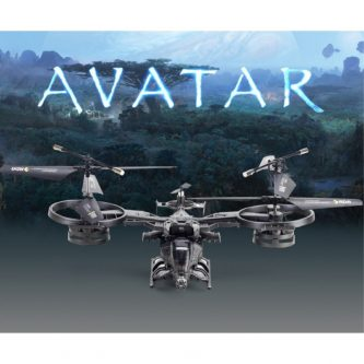 Drone AVATAR 2.4G Remote Control LED Light – Black