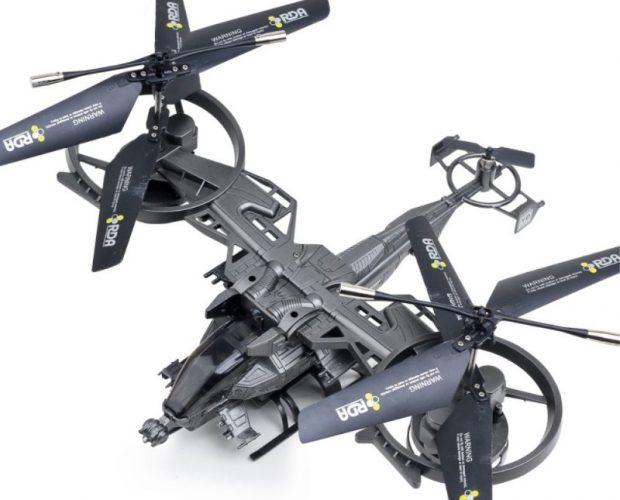 Drone AVATAR 2.4G Remote Control LED Light - Black