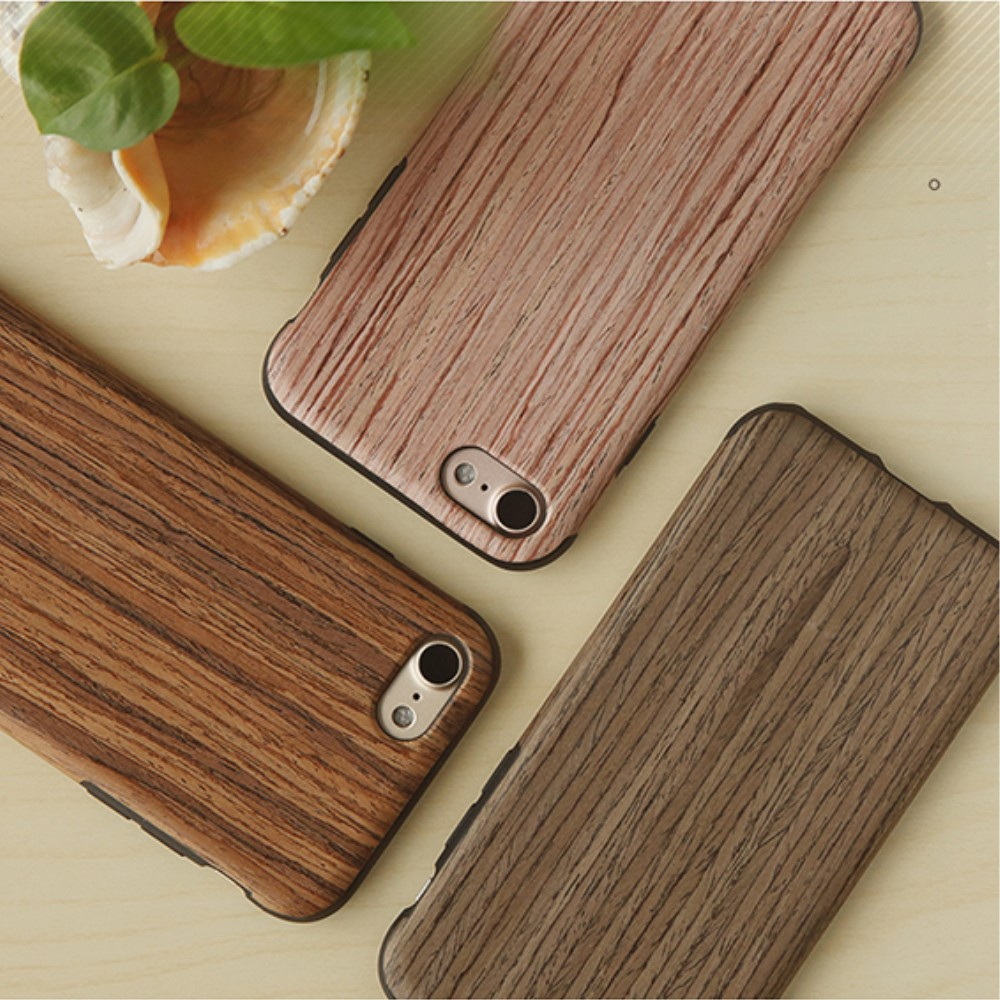 cover in legno di sughero iPhone 7